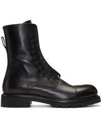 Belstaff - Black Huntscott Boots - Lyst