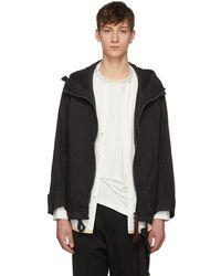 Ziggy Chen   Black Big Hood Coat   Lyst