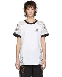 Stella McCartney - White Adidas Originals Edition Lace T-shirt - Lyst