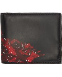 Marcelo Burlon | Black And Red Wing Wallet | Lyst