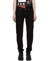 Givenchy - Black Distressed Rico Jeans - Lyst