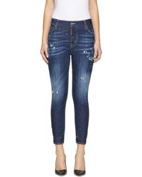 DSquared² - Indigo Sprinkle Wash London Jeans - Lyst