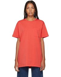 Simon Miller - Red Hutto T-shirt - Lyst
