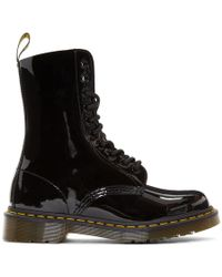 Marc Jacobs - Black Redux Grunge Patent 1490 Boots - Lyst