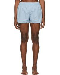 AMI - Blue Ami De Coeur Swim Shorts - Lyst