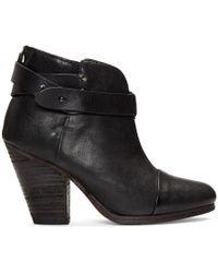Rag & Bone - Black Harrow Boots - Lyst