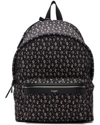 39dd67020734 Lyst - Prada Robot Stud And Leather-embellished Nylon Backpack in ...