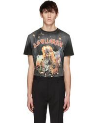 DSquared² - Black Sister From Hell Cigarette Fit T-shirt - Lyst