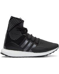 Y-3 Ultraboost Approach Laser Cut Sneakers in Black for Men - Lyst d52fbcf3a