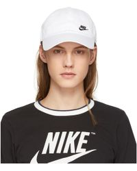 Nike | White H86 Futura Classic Swoosh Cap | Lyst