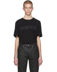 Helmut Lang - Black Re-edition Tom Of England T-shirt - Lyst