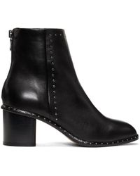 Rag & Bone - Black Willow Stud Boots - Lyst