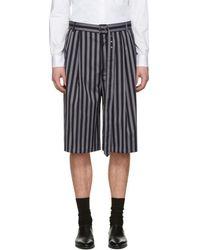 Cmmn Swdn - Navy Dusk Shorts - Lyst