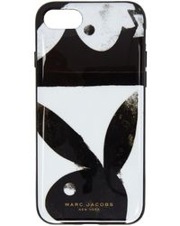 Marc Jacobs - Black And White Playboy Iphone 8 Case - Lyst