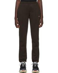 d7ab23a5d9 Women's Balenciaga Track pants and jogging bottoms Online Sale - Lyst