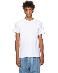 A.P.C. - White Herve T-shirt - Lyst