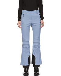 Moncler Grenoble - Blue Padded Ski Lounge Pants - Lyst