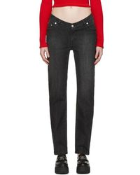 Opening Ceremony - Black Dip Jeans - Lyst