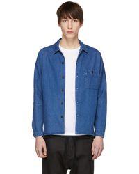 Stephan Schneider   Blue Denim Soft Shirt   Lyst