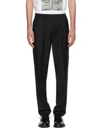 Acne Studios - Black Ryder L Trousers - Lyst
