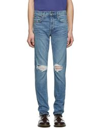 Rag & Bone - Blue Fit 1 Jeans - Lyst