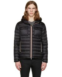 Moncler - Black Down Douret Jacket - Lyst