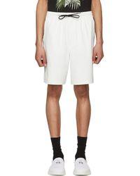 Y-3 - White Pu Shorts - Lyst