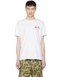 Rag & Bone - White Flag T-shirt - Lyst