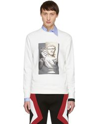 Neil Barrett - Off-white Iclaudius Sweatshirt - Lyst