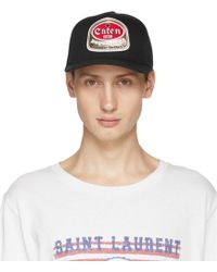 DSquared² - Black Caten Baseball Cap - Lyst