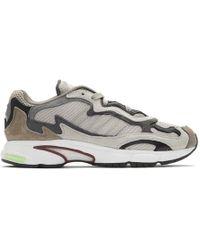 adidas Originals - Brown Temper Run Sneakers - Lyst