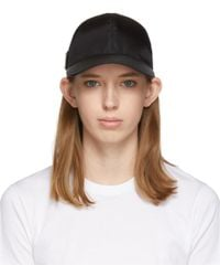 Prada Black Nylon Cap