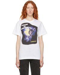 Ambush - White Wolf T-shirt - Lyst
