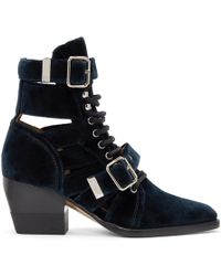 Chloé - Reylee Ankle Boots - Lyst