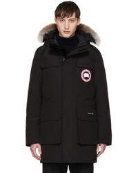 Canada Goose | Black Down & Fur Citadel Parka | Lyst
