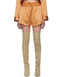 Off-White c/o Virgil Abloh - Beige Cargo Pyjama Shorts - Lyst