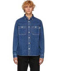 Carhartt WIP - Blue Barlow Shirt - Lyst