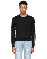 Dolce & Gabbana - Black Dgmillennials Logo Band Sweater - Lyst