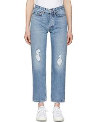 Won Hundred | Blue Pearl Jeans | Lyst