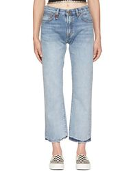 R13 - Blue Bowie Jeans - Lyst