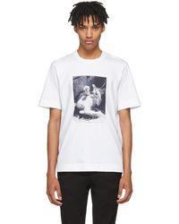 Jil Sander | White Mario Sorrenti Edition 004 T-shirt | Lyst