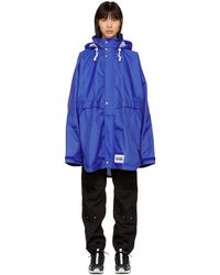 Martine Rose - Blue Rainforest Op Alpha Jacket - Lyst