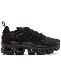 Nike - Black Air Vapormax Plus Sneakers - Lyst