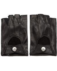 Ann Demeulemeester - Black Joris Fingerless Gloves - Lyst