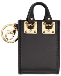 Sophie Hulme - Black Albion Tote Keychain - Lyst