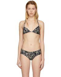 Étoile Isabel Marant - Black Shayla Bikini Top - Lyst