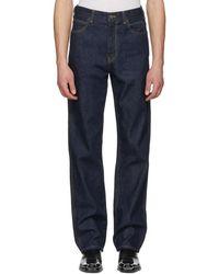 CALVIN KLEIN 205W39NYC - Blue Oversize Jeans - Lyst