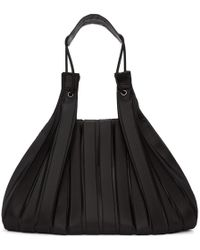 Issey Miyake - Black Linear Knit Tote - Lyst