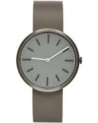 Uniform Wares - Grey Rubber M37 Watch - Lyst