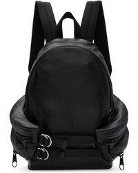 842ee43e6ea2 Alexander Wang - Black Double Buckle Backpack - Lyst